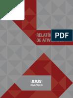 Relatório de Atividades Sesi 2013