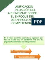 Taller de Planificación y Evaluacion Por Competencias
