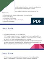 Desarrollo Empresarial Exposicion Grupo Bolivar