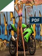 Fondo Auto Chica