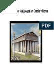 5. Deporte, Juegos y Competición en Grecia y Roma..