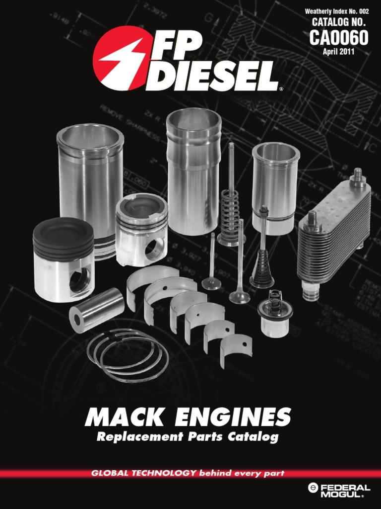 Mack Truck Engines FP Diesel Parts pdf | Cylinder (Engine