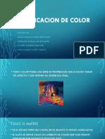 Codificacion de Color