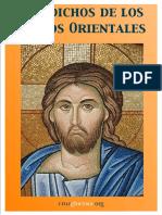 Dichos de Los Santos Orientales