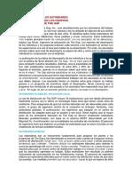 Vinculación de Los Estándares y Los Incentivos en El Centro de Distribución de the Gap