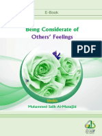 En Being Considerate of Others Feelings