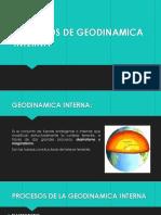 Procesos de Geodinamica Interna
