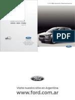 Manual Garantia Mantenimiendo Ford KA 2016