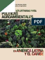 Directrices Voluntarias Para Políticas Agroambientales