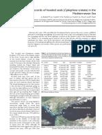 Cystophora Cristata en El Mediterraneo, Primeros Avistamientos