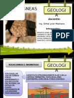 Geologia - Rocas Igneas