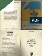 O Que é Nordeste Brasileiro Livro