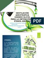 Destilación Azeotropica
