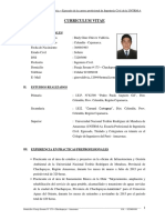 Cv. Gino Chávez Valdivia