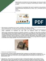 Mecanica de Suelos Consolidacion Del Suelo