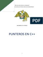 PUNTEROS EN C++