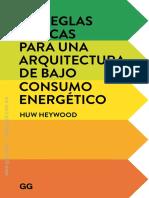 101 REGLAS BASICAS PARA UNA ARQUITECTURA DE BAJO CONSUMO