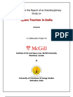 Space Tourism in India - A Collaborative Project of UPES & McGill University