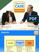 Crack the Case Level 1 Slides PDF