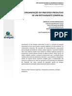 ARTIGO - Reorganização Do Processo Produtivo de Um Restaurante Comercial