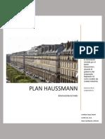 Plan Haussmann y La Reforma de París