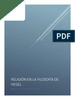 Religión en La Filosofía de Hegel