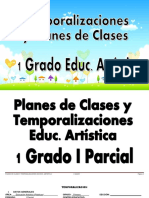1er - Artística - Planes de Clases (1)