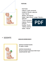 analisis biomecanico de posturas bases del neurodesarrollo