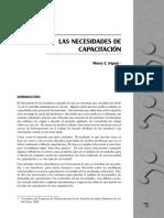Irigoin, M. (1998) - Cap. 3 Las Necesidades de Capacitación.