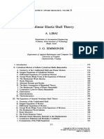 Nonlinear Elastic Shell Theory Libai1983