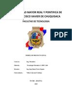 Perfil de Proyecto Final Mec242