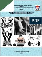 Monografía Ejecución Penal - Semilibertad (Completo)