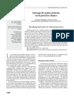 Protocolo SPIKES Malas Noticias