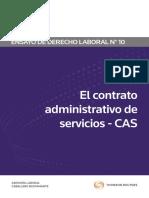 El Contrato Administrativo de Servicios - CAS
