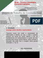 Apresentação_Educação ONLINE – Conceitos, Metodologias, Ferramentas