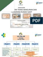 Persyaratan Teknis Sarana Prasarana RS