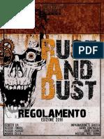 Regolamento Rust and Dust 2018 1.0