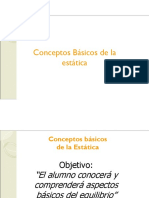 Conceptos Basicos de Estatica