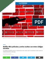 Www Laprensagrafica Com Amp Techlife Netflix Mira Peliculas y Series Ocultas Con Estos Codigos Secretos 20180505 0039 HTML