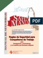 Bombeo H° Manual