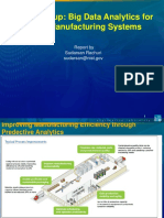 Big Data Analytics for Smart Manufacturing Systems Report