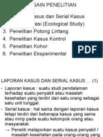 Metlit & Biostat Ps-kg 2009-2010_10_case Study & Korelasi