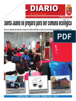 Diario de Santa Juana - Abril Mayo 2018