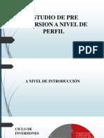 Estudio de Pre Inversion a Nivel de Perfil-1