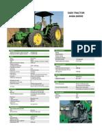 Ficha Tecnica de Tractor