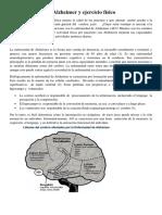 El Alzheimer y Ejercicio Físico