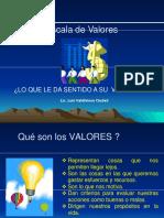 Escala de Valores (4)