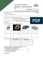 Examen Ciencia - Quinto