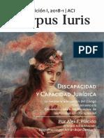 Revista Corpus Iuris Ed I- Articulo de Alex Placido