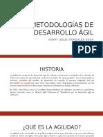 Metodologías de Desarrollo Ágil